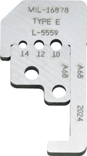 One Set Of Blades For Ideal Stripmaster Part MIL-16878 Type E  L-5559