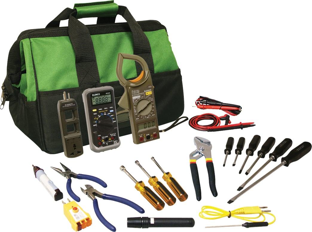 Elenco TK-8100 HVAC Technician Master Tool Kit