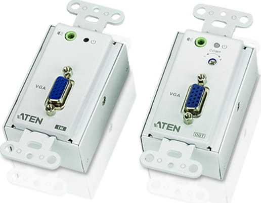 ATEN VE022 Mini Cat.5e Audio Audio max 150m Video Extender VGA