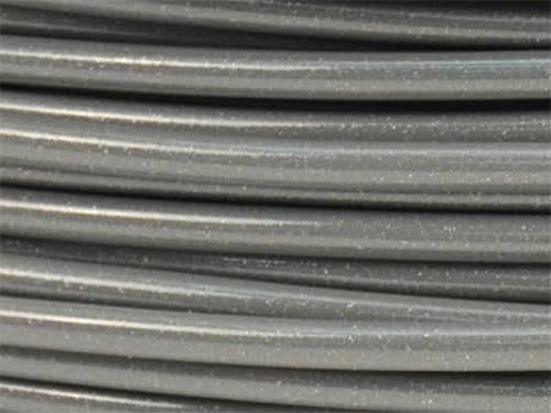 Lulzbot RM-MS0032 Metallic Gray N-Gen Copolyester Filament