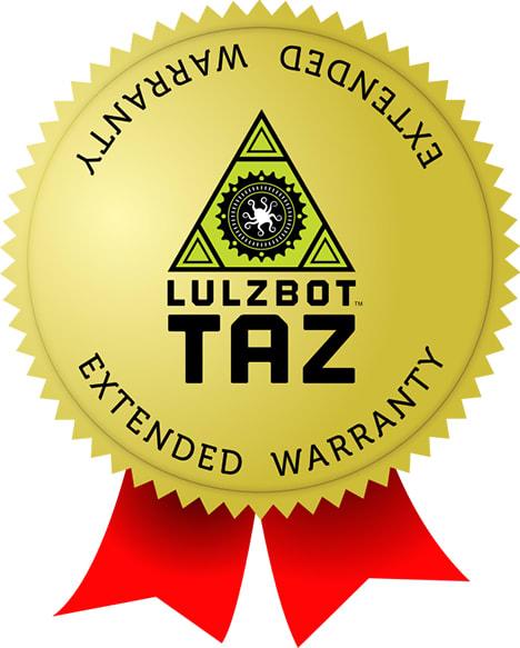 LulzBot TAZ Year Extended Warranty