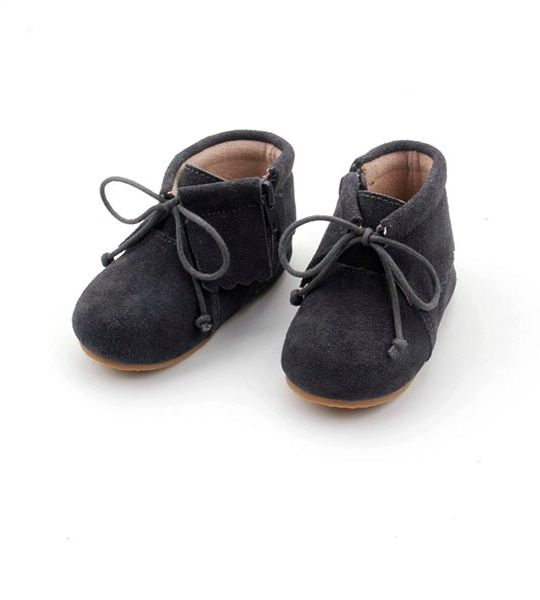 Rubz & Lolli - Charcoal Boho Boots
