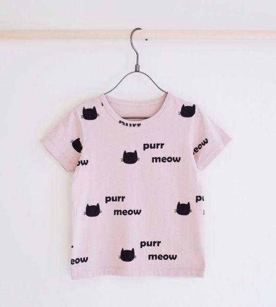 Tiny Rain - Meow Tee