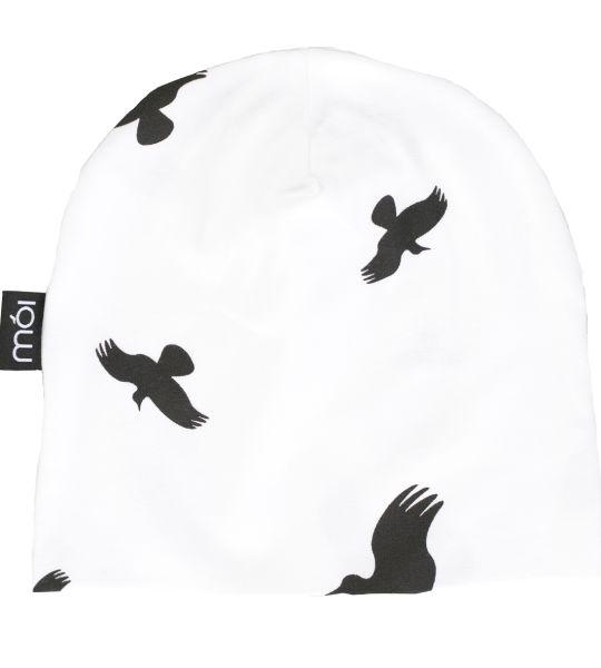 Moi - Urban White Raven Beanie