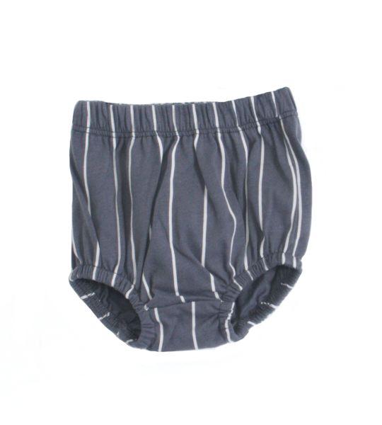 Piupia - Dark Grey Stripe Culottes