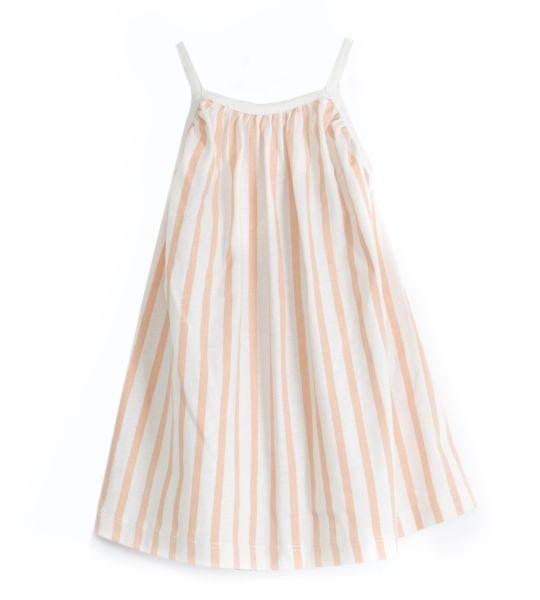 Piupia - Coral Stripes Dress