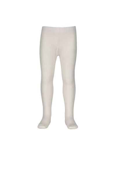 Milky - Jacquard Tights White