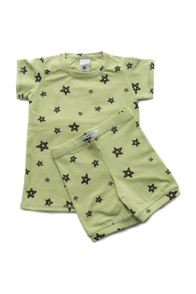 G Nancy - Avocado Star Shortie PJ Set boy