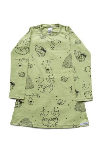G Nancy - Avocado Home Long Sleeve Nightie