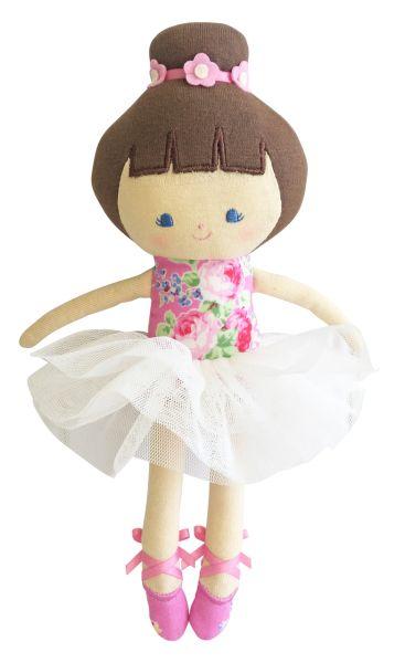 Alimrose - Baby Ballerina Doll Pink Rose
