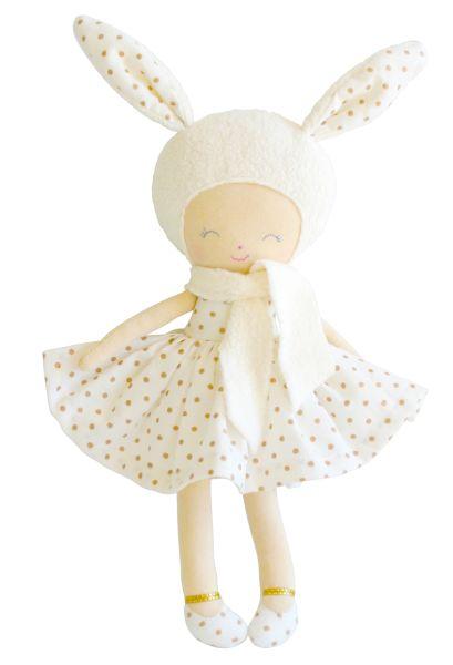 Alimrose - Belle Bunny Girl Gold Spot 26cm