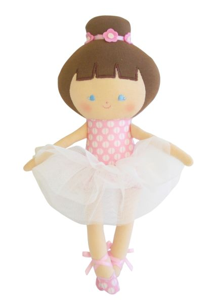 Alimrose - Baby Ballerina PInk Marshmallow 25cm