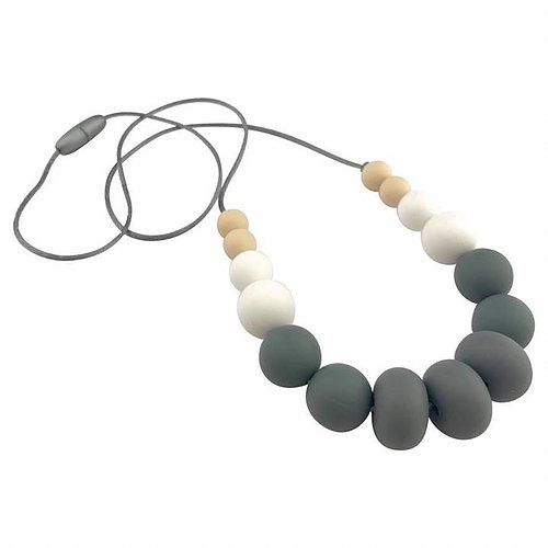 Nature Bubz - UNITE Silicone necklace grey