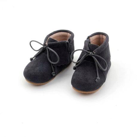 Rubz & Lolli – Charcoal Boho Boots