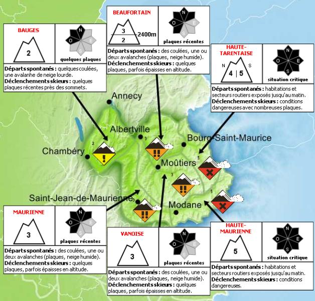 Map Of France Italy Switzerland.Alpine Avalanche Risk France Italy And Switzerland 9th January