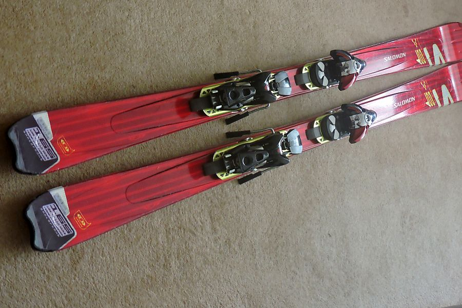 wähle authentisch Laufschuhe hochwertiges Design Salomon skis with bindings and boots for sale - (Nice) - Ski ...