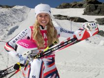Chemmy returns to Competitive Ski Racing at the Location of Her 2010 Accident