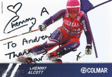 Re:Chemmy returns to Competitive Ski Racing at the Location of Her 2010 Accident