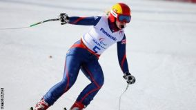 Kelly Gallagher wins Gold in Super-G!
