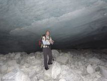 ever wondered what a glacier looks like from the inside?