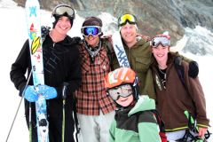 British Freeski Camps 2009  -  This Summer in Saas-Fee