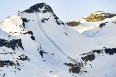 Four rescued from avalanche in Crans Montana