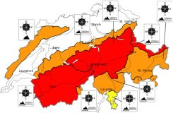 Critical Avalanche outlook for French and Swiss Alps