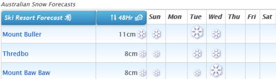 J2Ski Snow Report - August 1st 2021