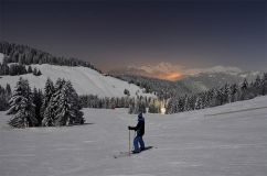 Ski under the Full Moon in La Clusaz - this Saturday!