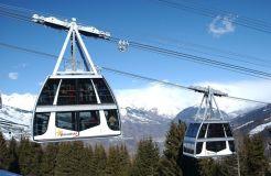 New Gondola and Zip Wire Park For la Plagne