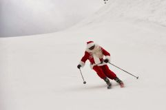 Christmas Snow Crosses Europe