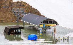 Flooding in Final Week of French Ski Season