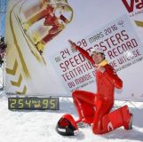 World Speed Skiing Record Broken