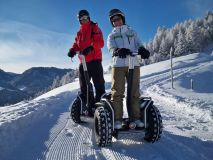 Winter Segway Fun in Serfaus