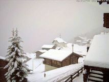 Heavy Snowfall in the Alps
