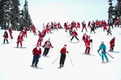 More Dress Like Santa Day Ski Days