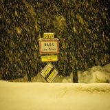Snow Storm of the Season in the Alps