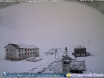 Heavy Spring Snowfall In The Alps