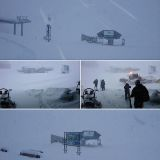 Upto 70cm of Snowfall So Far Accumulated From Alps October Storm