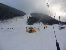 Heading for the hills in Bansko today ...