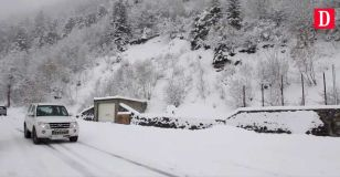 Snow in the Pyrenees