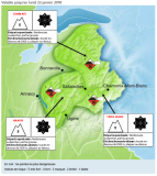 Extreme Avalanche Danger in large area of the Alps - 22nd January 2018