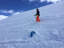 Val d'Isère Snow Reports - April 2018