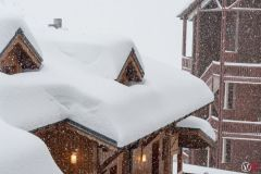 Snow Depths and Off-Piste Avalanche Danger Build in the Alps