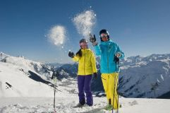 Fresh Easter Snowfall in the Alps