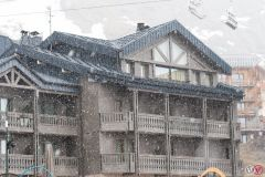 Snow Falling for End of Season
