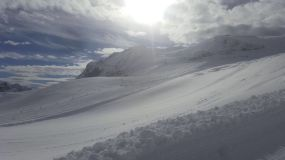 Second Summer Snowfall In The Alps is Greater Than First