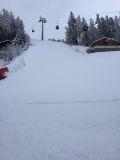 Pre-Weekend Snowfall in the Alps