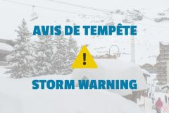 Val Thorens Advises Skiers to Stay Indoors for the Next Few Days
