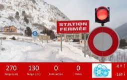 Ski Resort in French Pyrenees Forced To Close On Busiest Weekend of Season